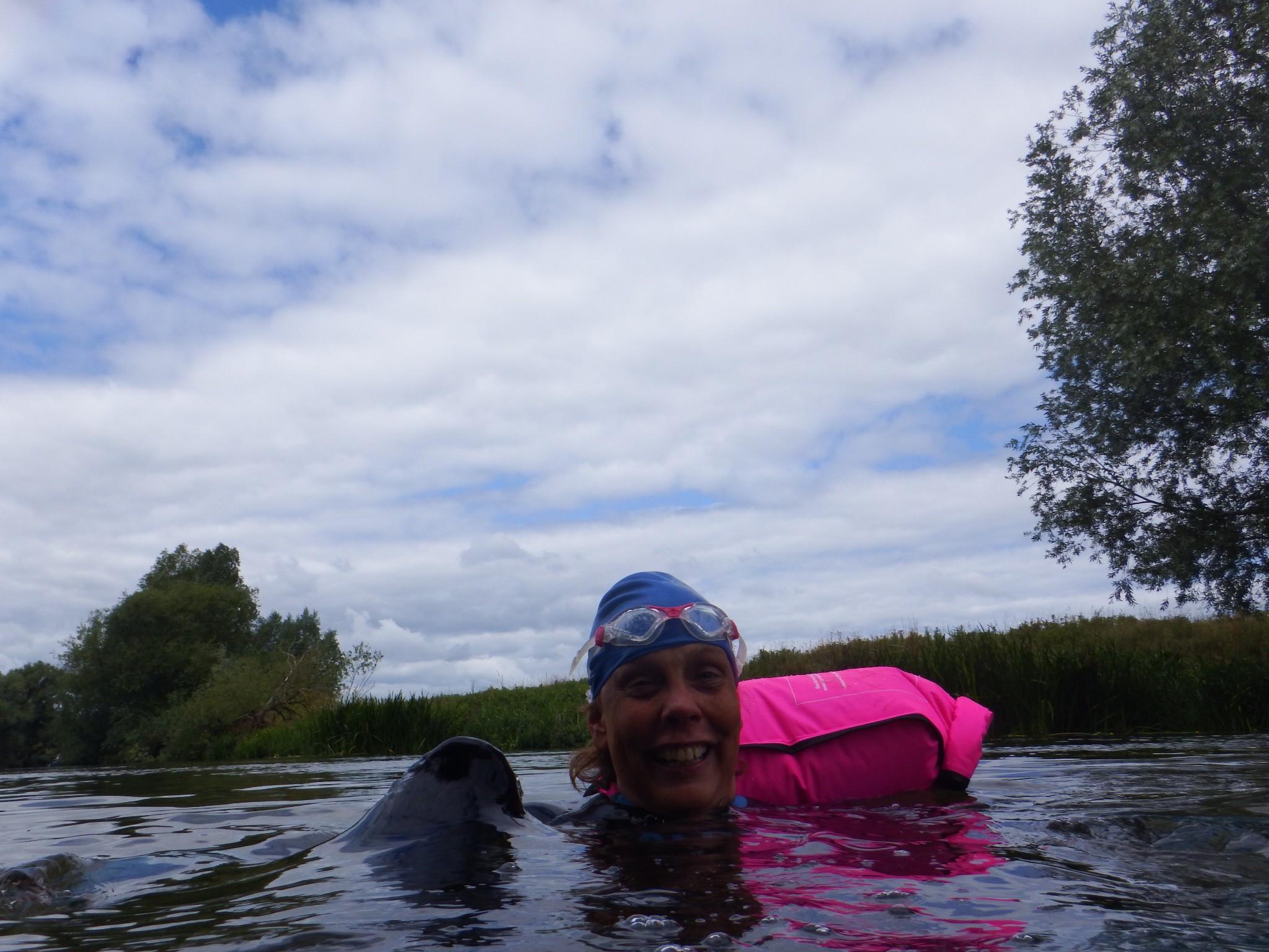 cold water swim fundraising