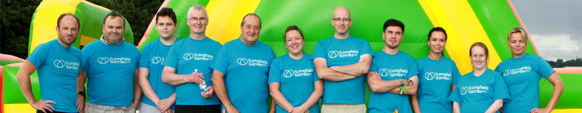 Team of Longfield corporate fundraisers