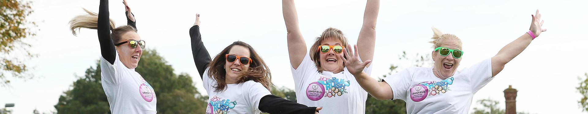 Bubble Rush participants