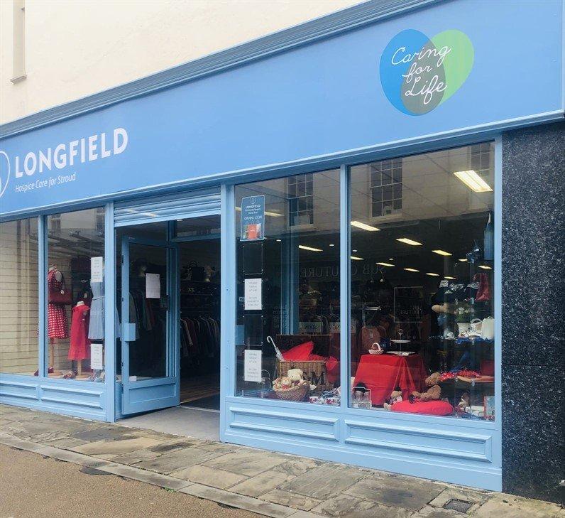 Stroud charity shop