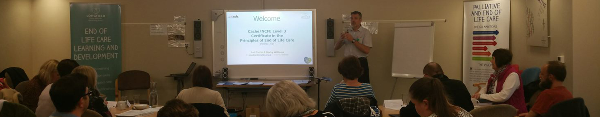 Full end of life care training session
