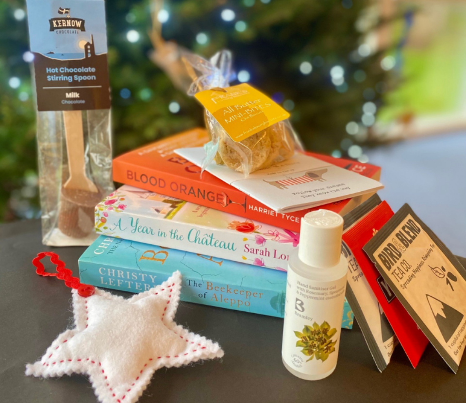 December Care Package Products